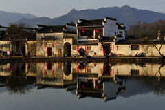 Spring Festival in Hongcun Royalty Free Stock Images