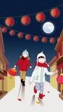 Spring Festival illustration design Royalty Free Stock Images