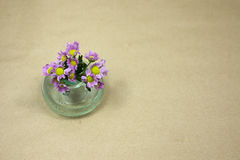 Spring festival. Small bouquet for a beautiful girl in her holiday Stock Images