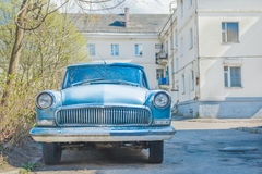 Spring fever of veteran classic car Royalty Free Stock Photo