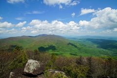 Spring From Flattop Rock Stock Photography