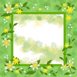 Spring fling frame Royalty Free Stock Photo