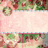 Spring Fling Shabby Quick Page Royalty Free Stock Photos