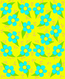 Spring Fling Yellow Royalty Free Stock Photos