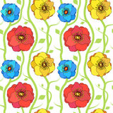 Spring floral pattern royalty free stock photo