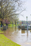 Spring flood Stock Photography