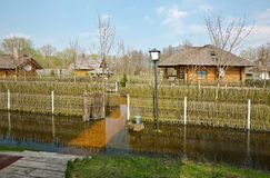 Spring flood, Belarus Stock Photos