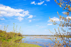 Spring flood Royalty Free Stock Photo