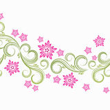Spring floral background. Vector illustration for your design Stock Photos