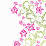 Spring floral background. Illustration for your design Royalty Free Stock Photo