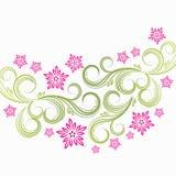 Spring floral background. Illustration for your design Stock Image