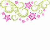 Spring floral background. Spring floral background - illustration for your design Stock Photos