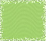 Spring Floral Background. Easily removed stripes, if you like, vector file Stock Photography