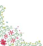 Spring floral background Stock Images