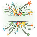 Spring floral background. With place for your text Royalty Free Stock Photography