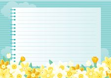 Spring floral background Stock Images
