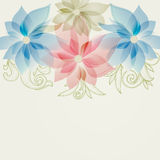 Spring floral background Royalty Free Stock Images
