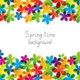 Spring floral background for Your design Stock Photo