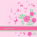 Spring Floral banner Royalty Free Stock Photo