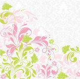 Spring floral card Royalty Free Stock Image