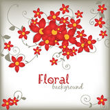 Spring floral card Royalty Free Stock Photography