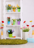 Spring floral decorations Royalty Free Stock Photos