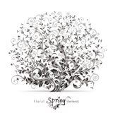 Spring Floral Elements vector illustration