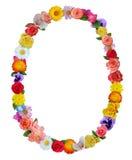 Spring floral frame Stock Images