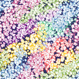 Spring floral garden seamless pattern Stock Image
