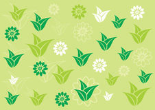Spring floral pattern Stock Image