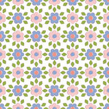Spring floral pattern textiles Stock Photo