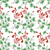 Spring floral Pattern royalty free stock image