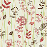 Spring floral seamless pattern Stock Photography