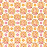 Spring floral seamless pattern. Abstract vector background with flowers. Textile print or packaging design. Royalty Free Stock Photo