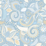 Spring floral seamless pattern. Provence style. Flowers wallpaper Stock Images