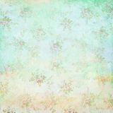Spring floral vintage background stock photos