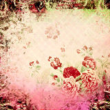 Spring  floral vintage background Royalty Free Stock Image