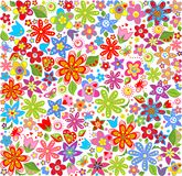 Spring floral wallpaper Stock Image
