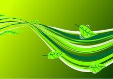 Spring Flow. Illustrations Spring Flow art background royalty free illustration