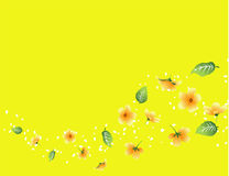 Spring flow background. Vector illustration of spring flow background Royalty Free Stock Photography
