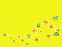 Spring flow background. Vector illustration of spring flow background royalty free illustration