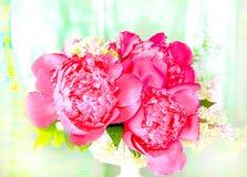 Spring flower arrangement Stock Image