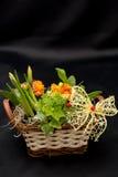 Spring flower arrangements Royalty Free Stock Photos