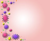 Spring flower art design Royalty Free Stock Photos