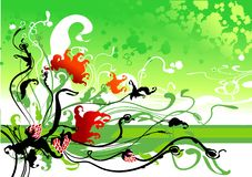 Spring flower Background. (image can be used for printing or web Stock Photography
