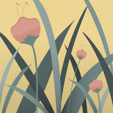 Spring flower. Background vector illustration Royalty Free Stock Photos