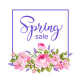 Spring flower card. Royalty Free Stock Photography