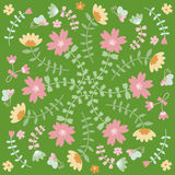 Spring flower card. Seamless floral flower background,  flower texture Royalty Free Stock Image