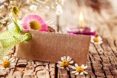 Spring flower decoration Royalty Free Stock Photos