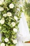 Spring flower garden background Stock Photos
